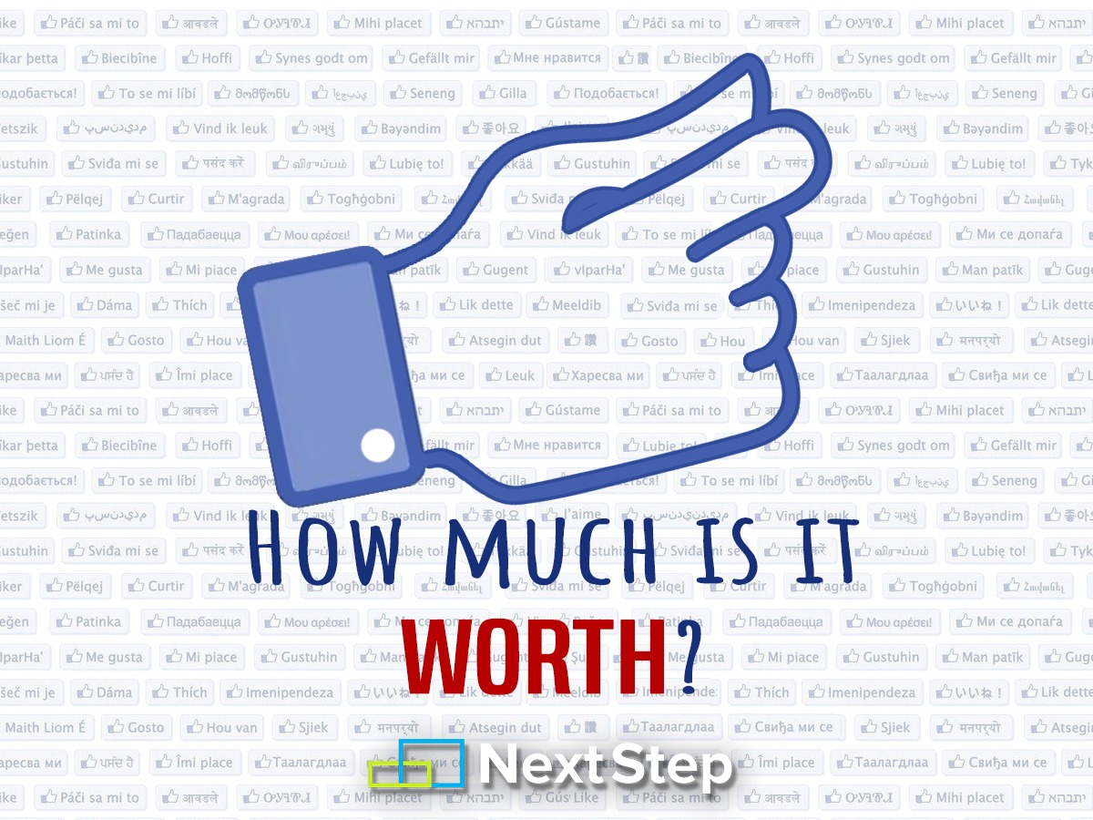Quanto vale gestire una pagina Facebook?