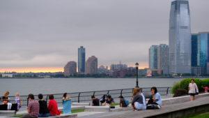 skyline da battery park